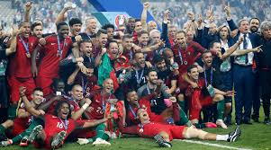 Memories of Portugal winning Euro 2016
